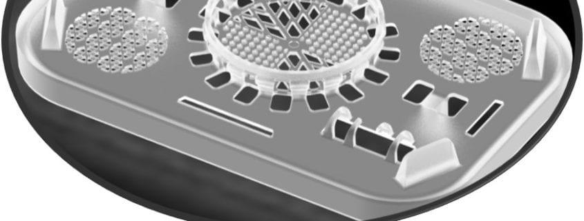 Fluoropolymer cassette