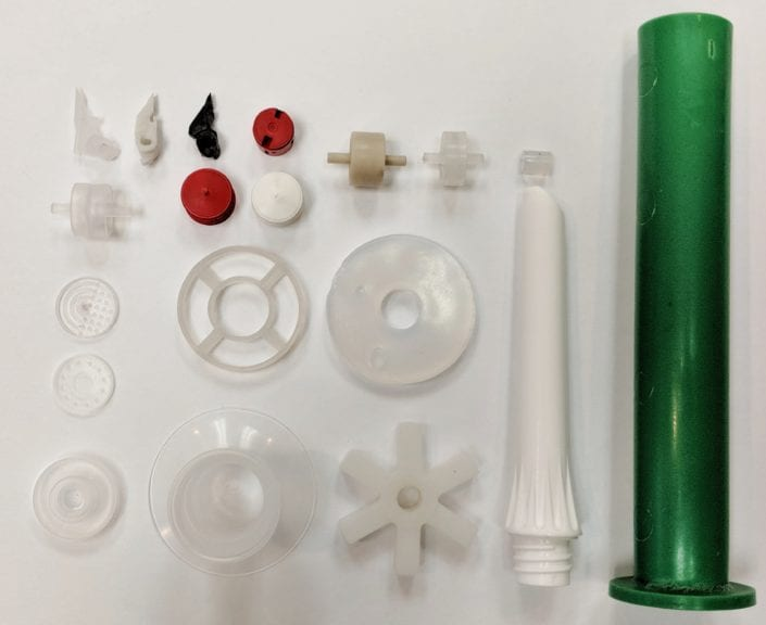 PFA (Fluoropolymer) Thermoplastic Components