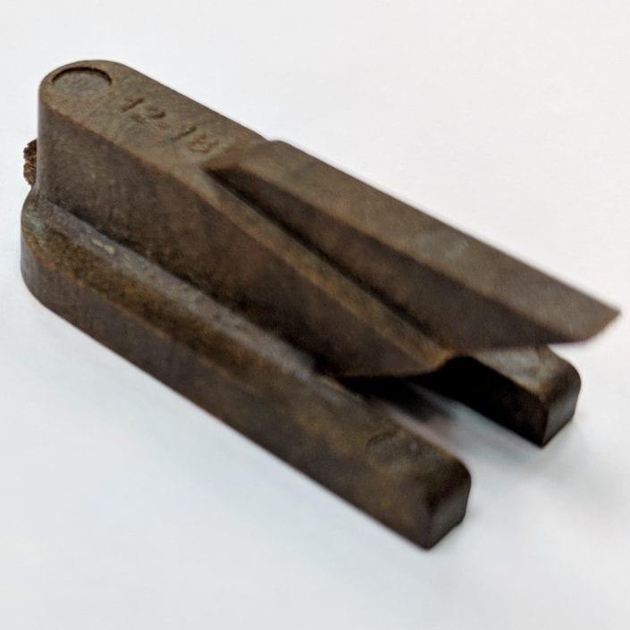Non-metallic aircraft repair tools, scraper blade holder